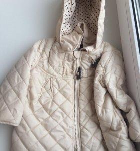 Куртка весенняя для принцесс.