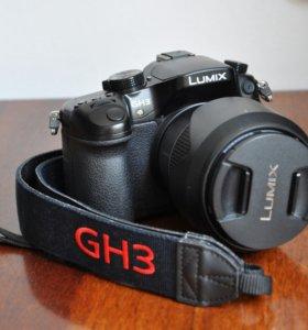 Panasonic Lumix DMC-GH3 + 14-140
