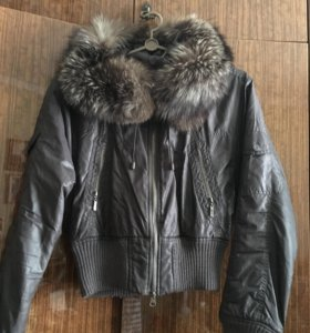 Куртка короткая (мех натуральный )