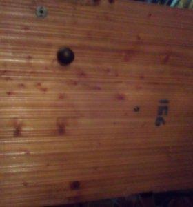 Дверь металлическая, обшитая деревом