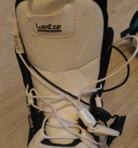 Ботинки для сноуборда р 34