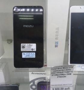 Новый Meizu U10 черный
