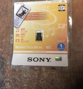 Карта памяти Sony M2  2Gb