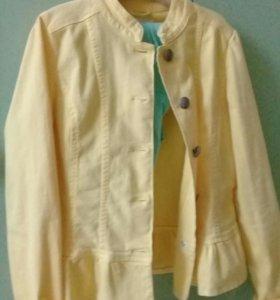 Джинсовой пиджак на девочку