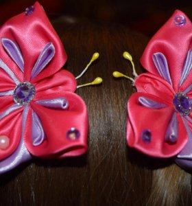 Бабочки-заколки 150 за пару