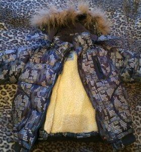 Тёплая куртка,с доп.подкладкой