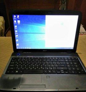 Ноутбук Acer (Core i3 2130,4gb,320gb,Radeon 5470)