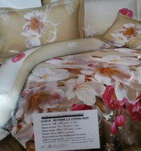 Комплект постельного белья 1,5сп. с одеялом