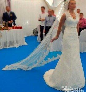 Свадебное платье 42-46 размер