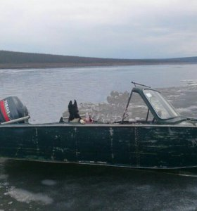 Продам мотор с лодкой