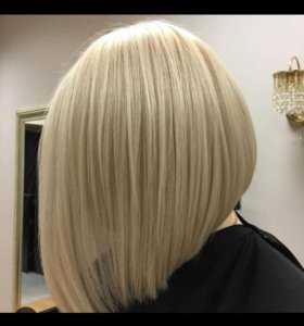 Парикмахерские услуги для блондинок