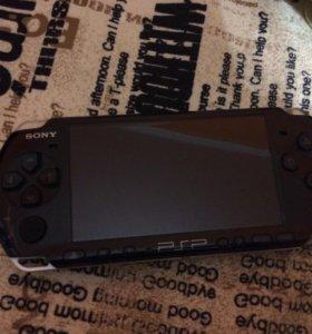 Игровая приставка SONY PSP 3008 Black +2 игры 2000
