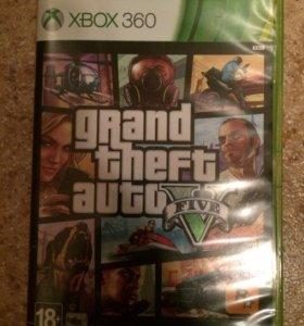 Диск Grand Theft Auto 5 на xbox 360