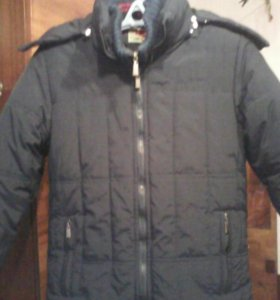 Куртка зимняя на синтепоне р 44-46