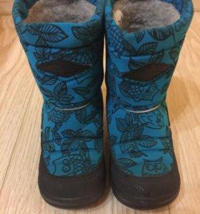 Kuoma зимние ботинки на шерсти