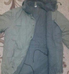 Новая зимняя куртка!/спецодежда/