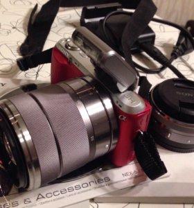 Бесзеркальный фотоаппарат Sony nex-c3d
