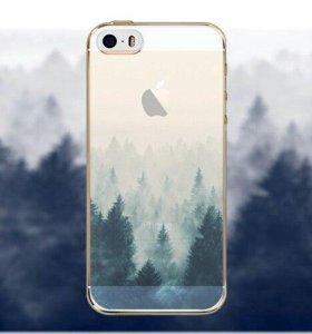 Силиконовый чехол для iPhone 5 5S SE