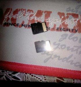 SD карты по 2 гб, продаю сразу обе