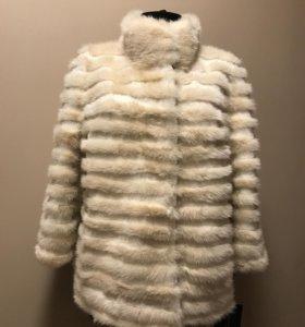Меховая куртка комбинированная норка+кролик НОВАЯ