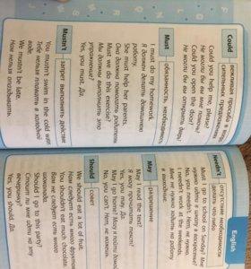 Английский язык в таблицах(1-4класс)