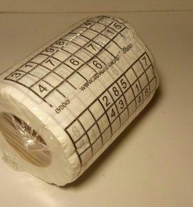 Необычный подарок туалетная бумага