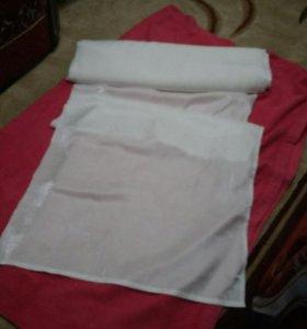 Ткань белая 160м*70см