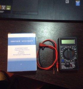 Мультиметр цифровой DT832 новый