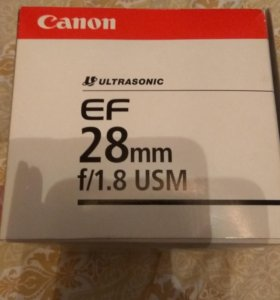 Обьектив Canon 28mm f 1.8
