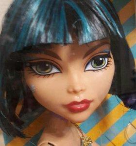 monster high cleo de nile кукла новая в упаковке.