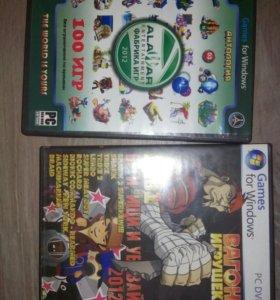 Игры для пк и dvd.