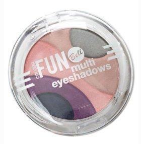 Тени Colour FUN Bell multi eyeshadows