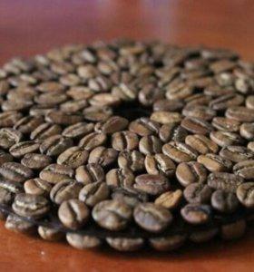 Подставки и корзиночки из кофе