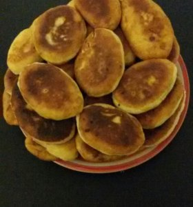 Домашние жариные пирожки!