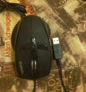 Проводная игровая мышь Defender Warhead GM-1300