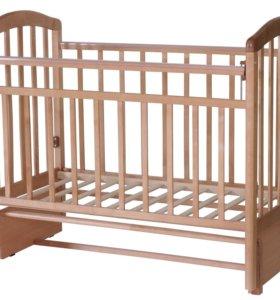 Кроватка-маятник Алита 5 бук