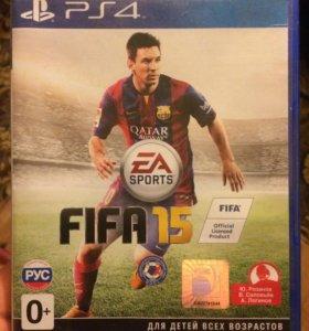 FIFA 15 лицензионная на PS4