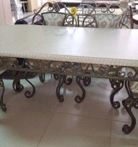 Кованые столы,стулья