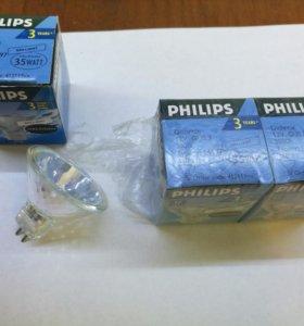 Лампа галогенная PHILIPS 12В 35Вт Brilliante GU5.3