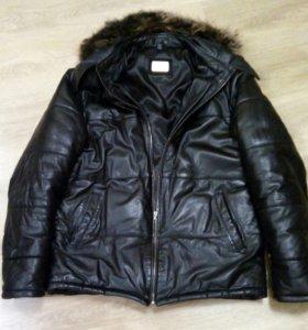 Куртка кож. Зимняя
