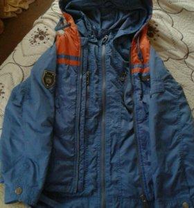 Куртка +жилетка