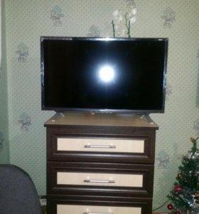 Телевизор новый telefunken с доставкой на дом.