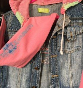 Курточка джинсовая джинсовка