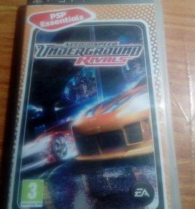 Диск на PSP , игра need for speed