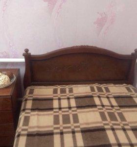 Кровать с матрасом, р-р 120x200