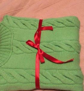Вязание спицами мужских свитеров