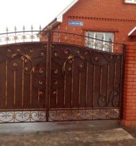 Ворота, калитки, беседки, ограды, мангалы и т.д.