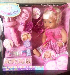 🌸Новая кукла Warm baby с аксессуарами 38 см