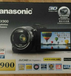 Panasonic HC-X900 High Definition Video Camera