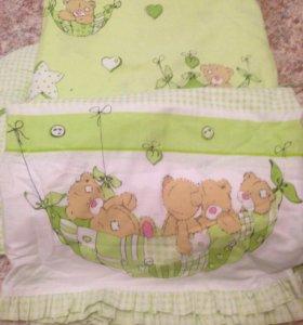 Балдахин бортики одеялко подушка